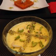 Buzkashi - Paris, France. Ferni cream dessert! Don't leave without eating this!'