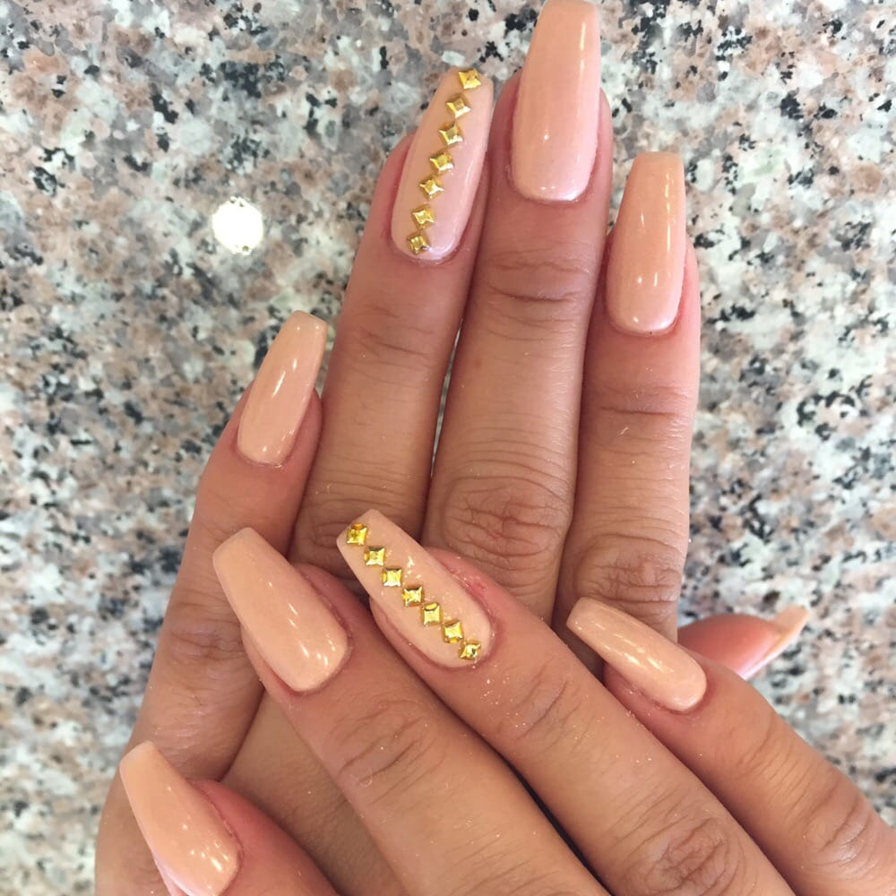 photo of jk nails   los angeles ca united states bio gel full set