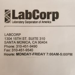 Labcorp 28 Reviews Medical Centers 1304 15th St Santa Monica