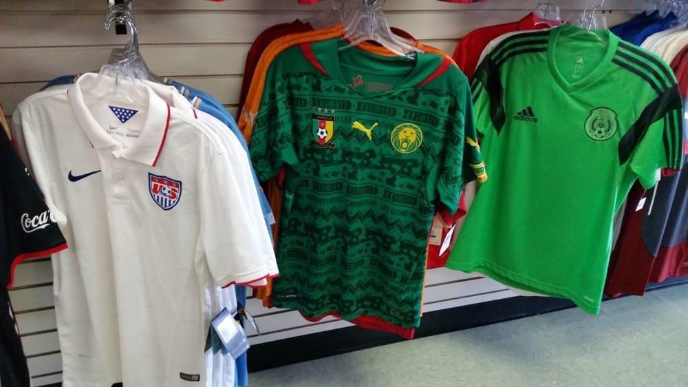 reputable site a70e8 c3780 2014 FIFA World Cup jerseys: USA, Cameroon, Mexico (goalie ...