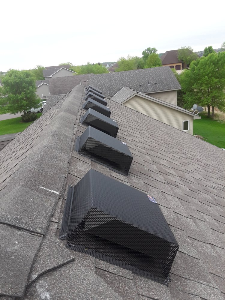 Roof Vent Covers >> Roof Vent Covers Installed To Prevent Wildlife Damage To Roof Vents