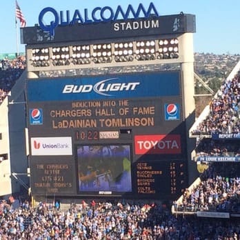Image result for QUALCOMM STADIUM jumbotron