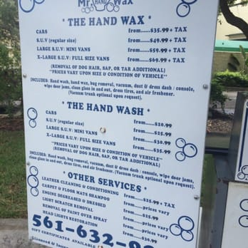 Hand Car Wash Boynton Beach