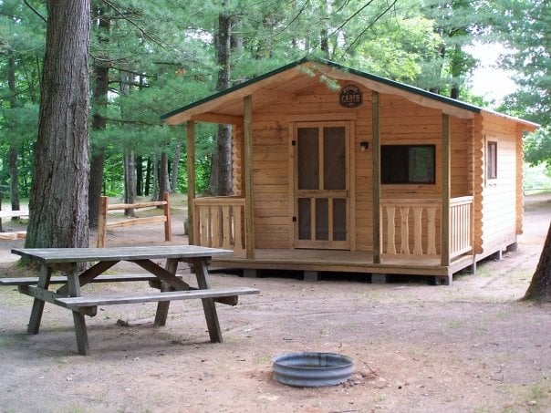 Coolwater Campground: 9424 W 48 1/2 Rd, Wellston, MI