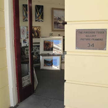 The Finishing Touch Gallery Picture Framing Framing 34 High St
