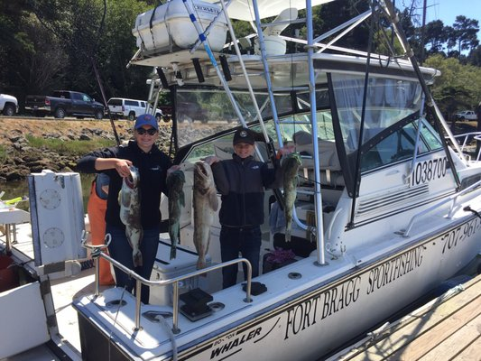 Fort bragg sportfishing pescaria 224 s mcpherson st for Fort bragg fishing charters