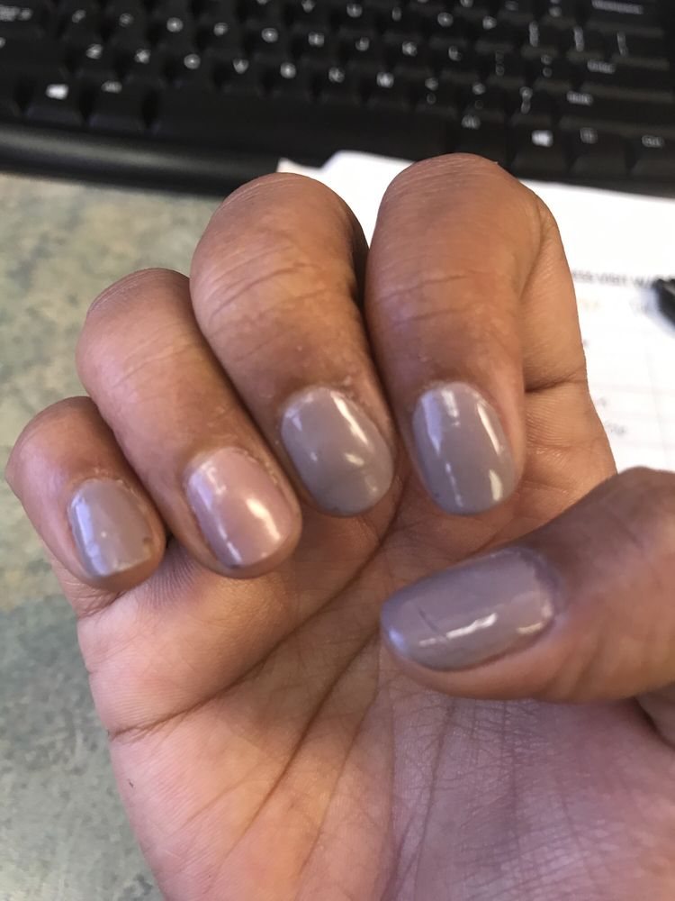 Ugly nail polish , cracked in a day, bad service! - Yelp
