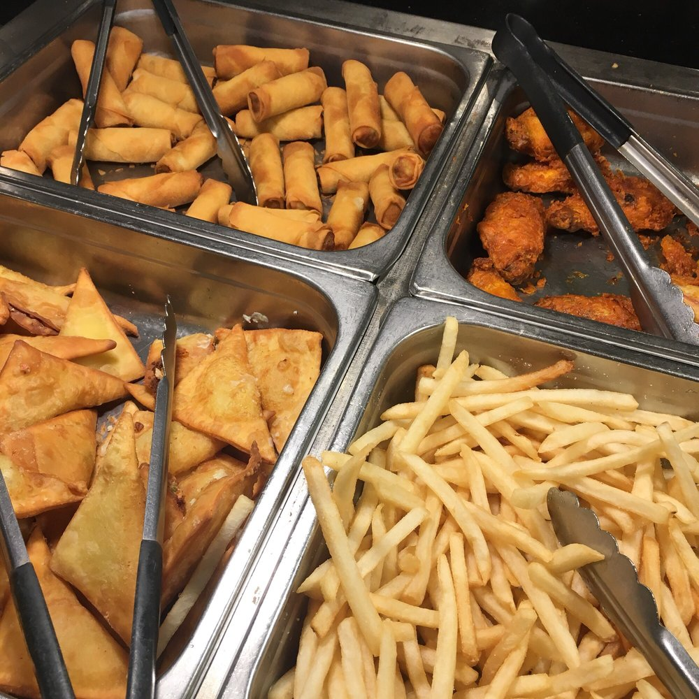 fried food fried won tons french fries mini egg rolls yelp rh yelp com