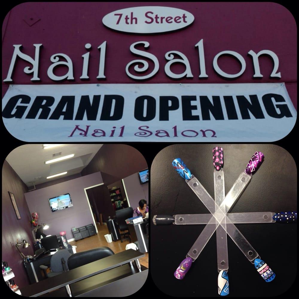 7th street nail salon closed nail salons 1524 w 7th for 7th street salon