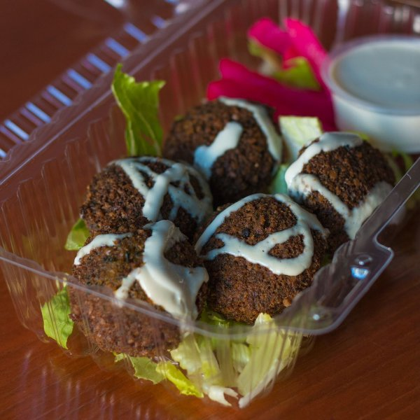 Photo of D's Dubai Sauce - Los Angeles, CA, United States. Falafel