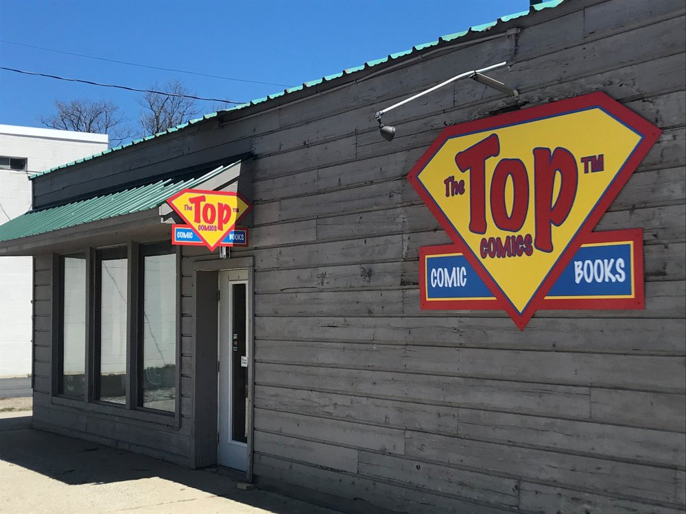 Top Comics: 966 West South Airport Rd, Traverse City, MI
