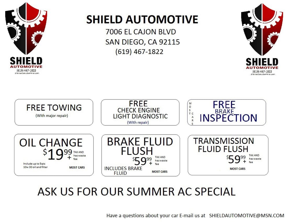 Shield Automotive Motor Mechanics Amp Repairers 7006 El