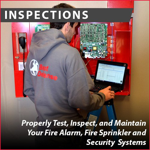 Best Defense Fire Protection & Security: W6243 Contractor Dr, Appleton, WI
