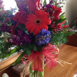 Photo of Plant & Flower Boutique - Pensacola, FL, United States. Birthday bouquet