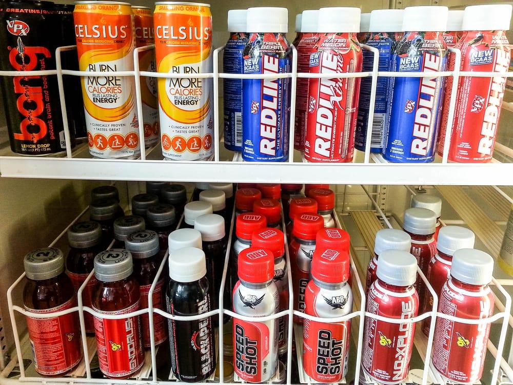 Celsius Negative Calorie Drinks Redline Energy Drink