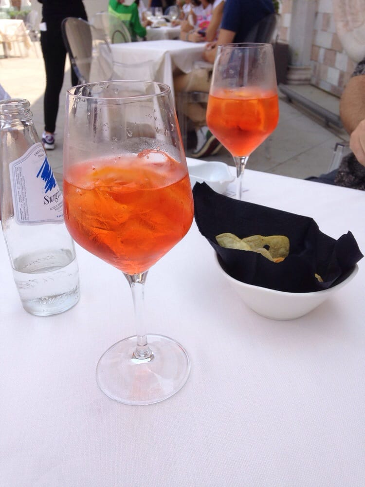Aperol Spritz on the rooftop - Yelp