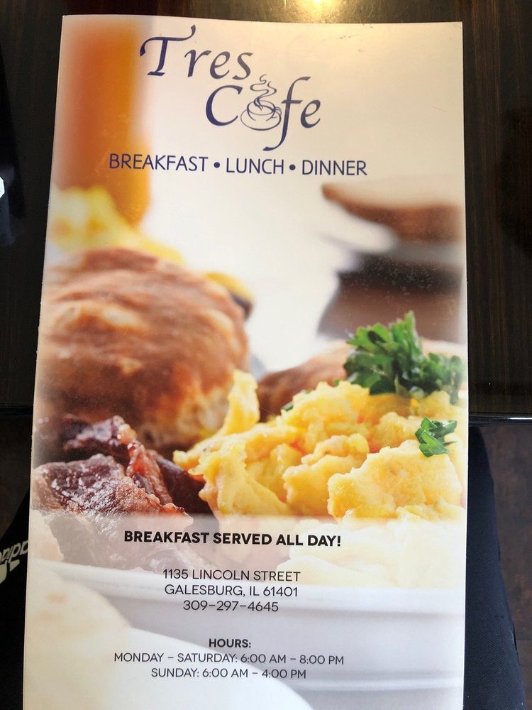 Tres Cafe: 1135 Lincoln St, Galesburg, IL