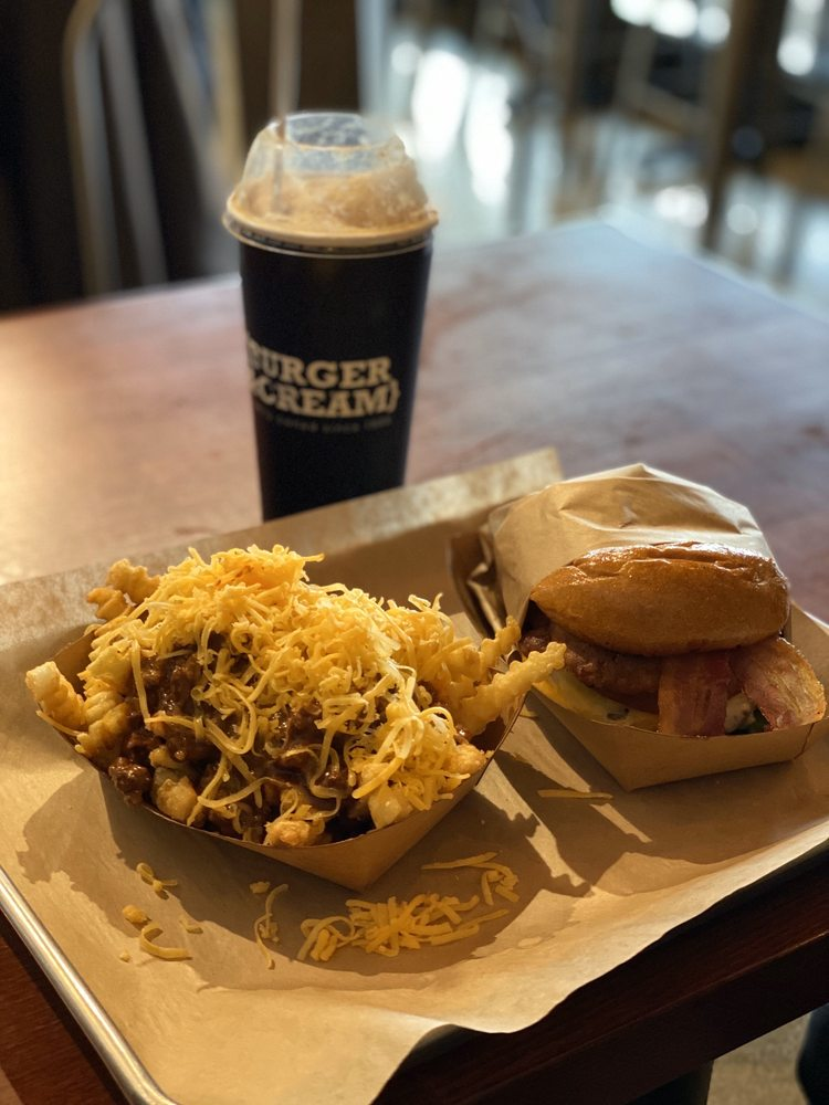 Burger & Cream: 736 Taylorville Rd, Grass Valley, CA