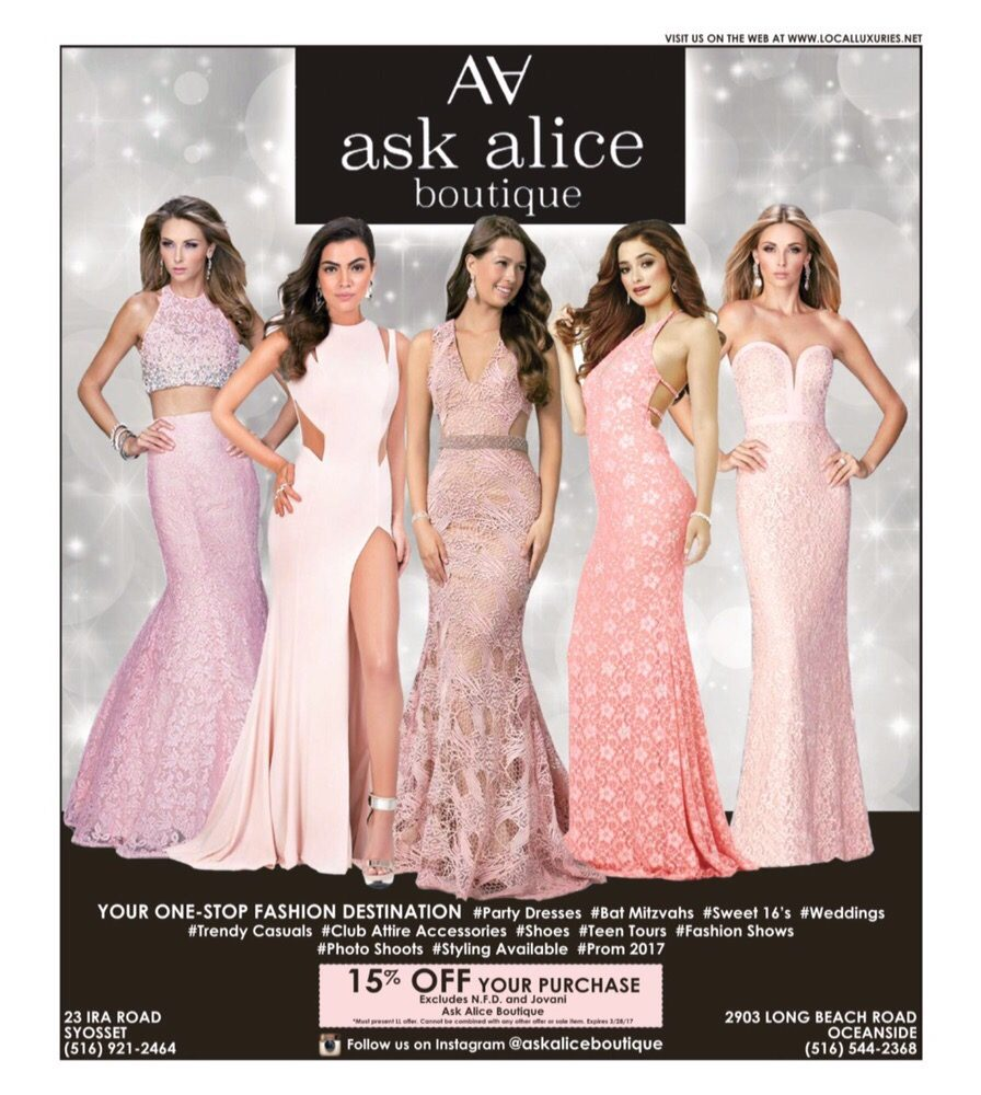 Ask Alice Boutique - Women\'s Clothing - 2903 Long Beach Rd ...