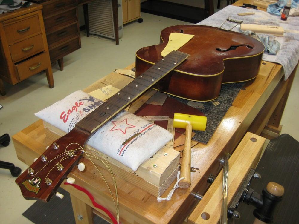 guitar repair bench yelp. Black Bedroom Furniture Sets. Home Design Ideas