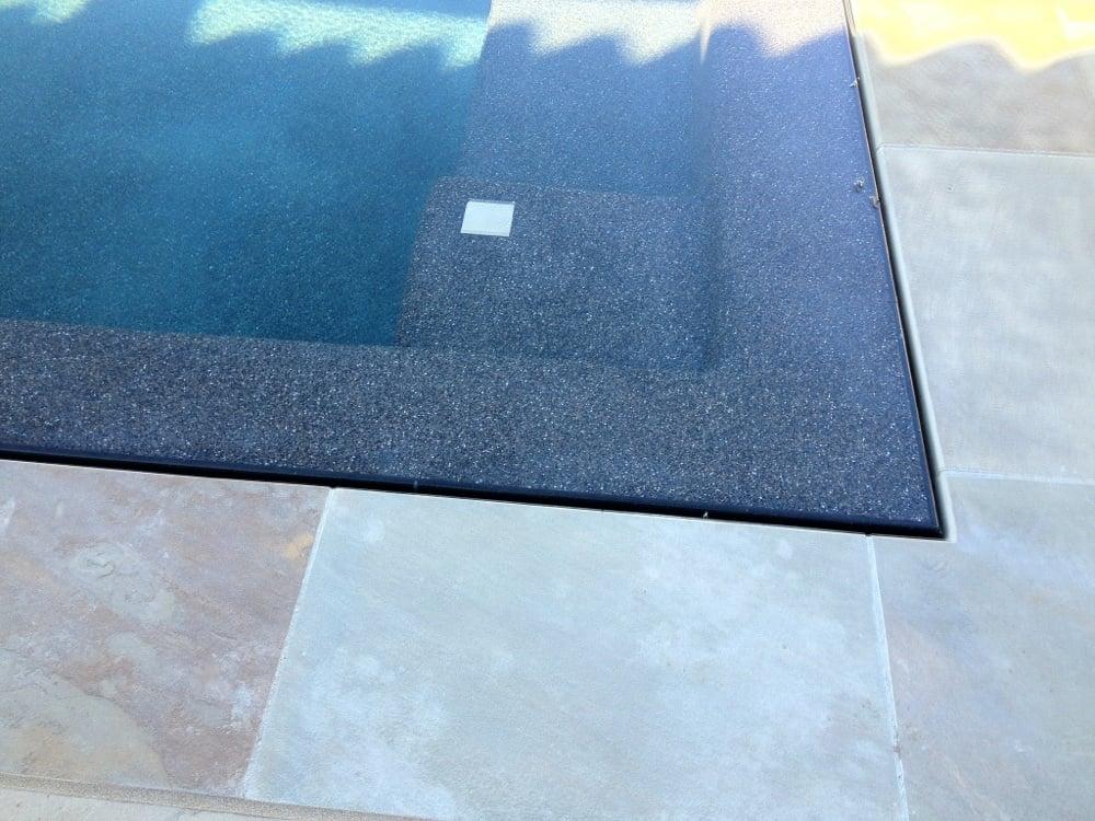 Onyx Pool Plaster : Pebble sheen black onyx yelp