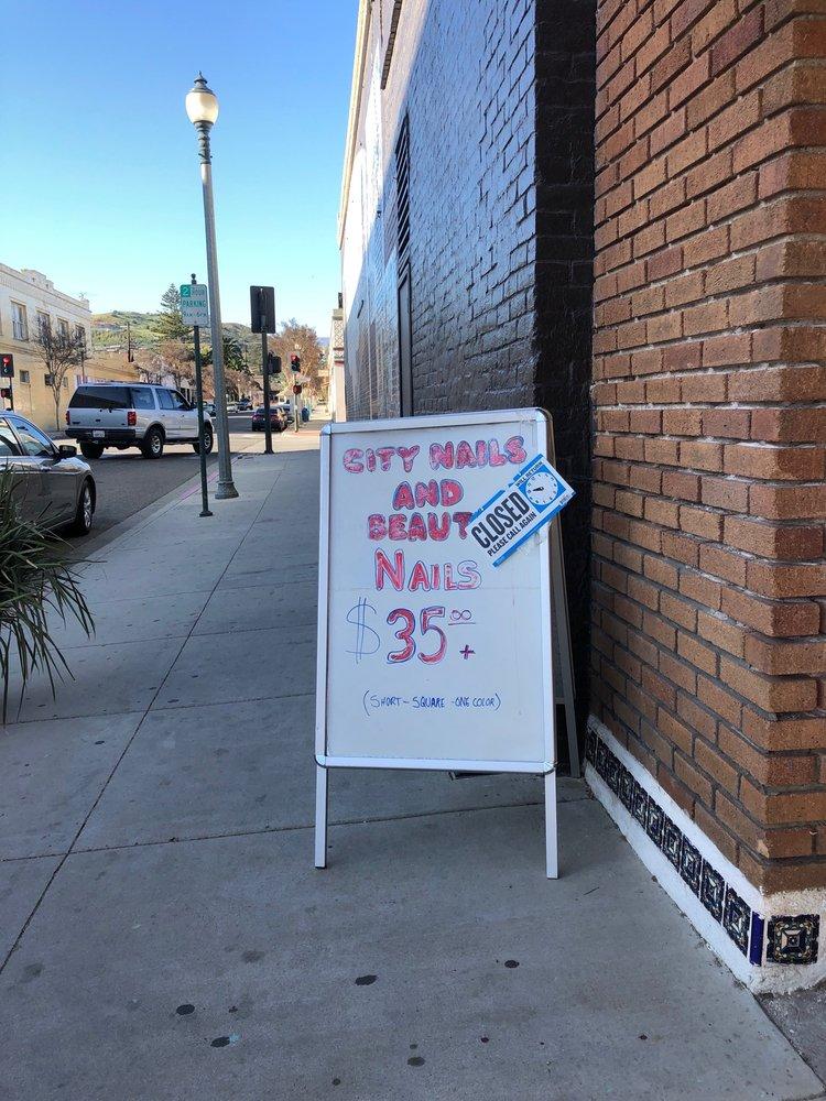 City Nails and Beauty: 1551 Ventura St, Fillmore, CA