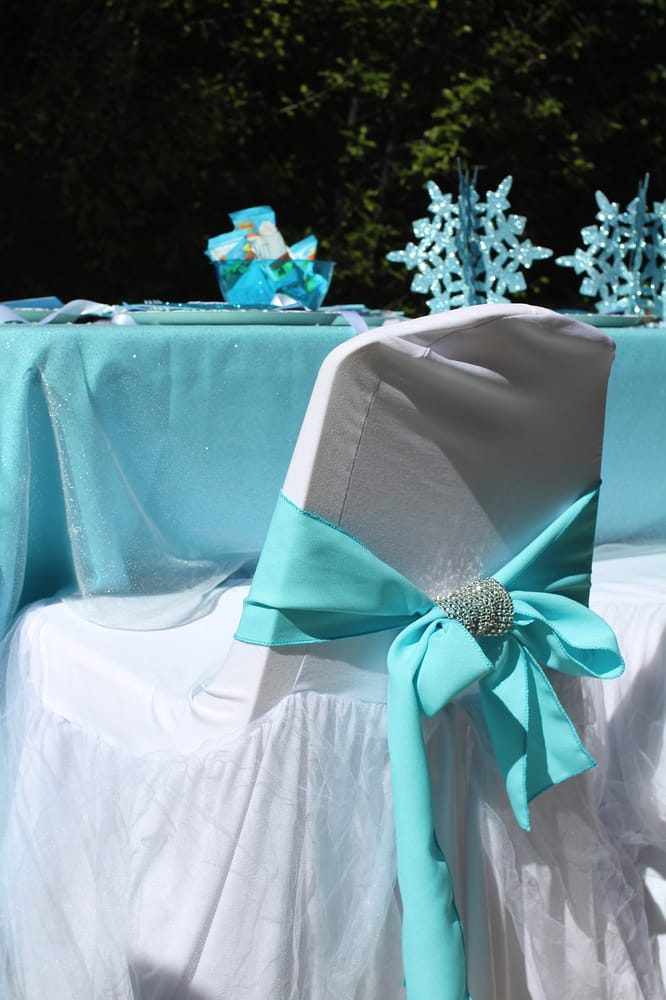 frozen, princess theme birthday party table set up ...
