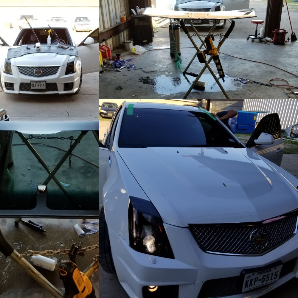 Houston Exclusives Auto Glass and Window Tint: 7111 Airline Dr, Houston, TX