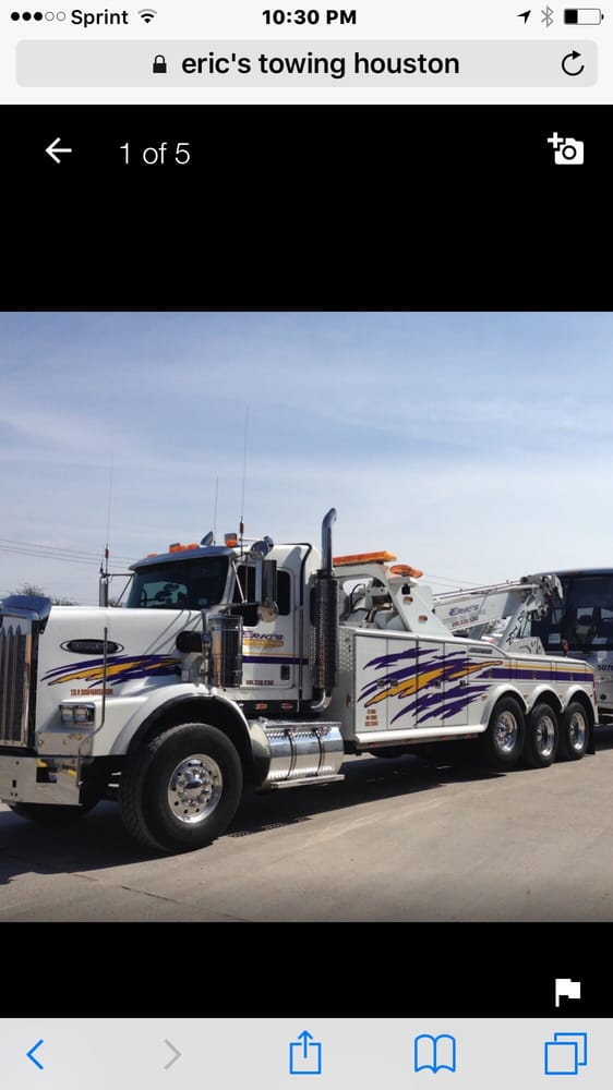 Eric's Towing and Recovery, Houston Texas: Houston, TX
