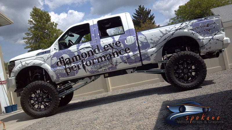 Spokane Vehicle Wraps And Graphics Ford Monster Truck
