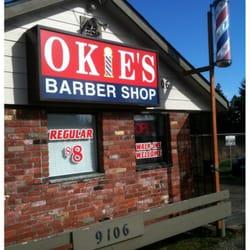 Okies Barber Shop - CLOSED - Barbers - 9106 Martin Way E