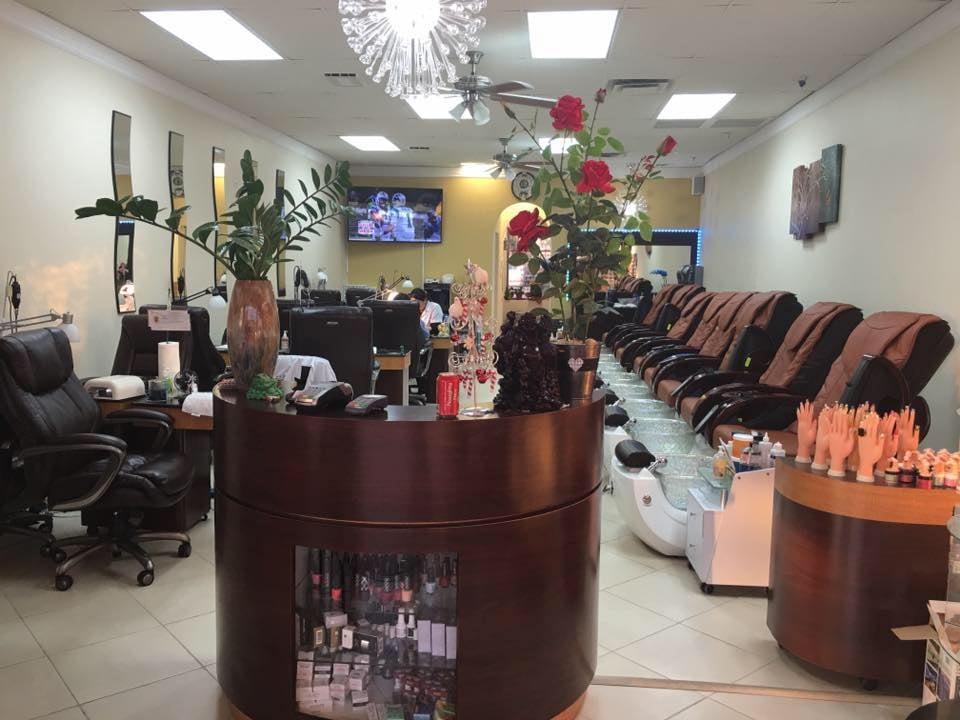 Above and beyond nails 37 reviews nail salons 4707 e for Above and beyond beauty salon
