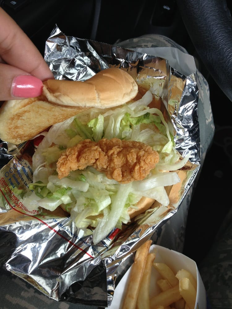 Sonic chicken strip sandwich