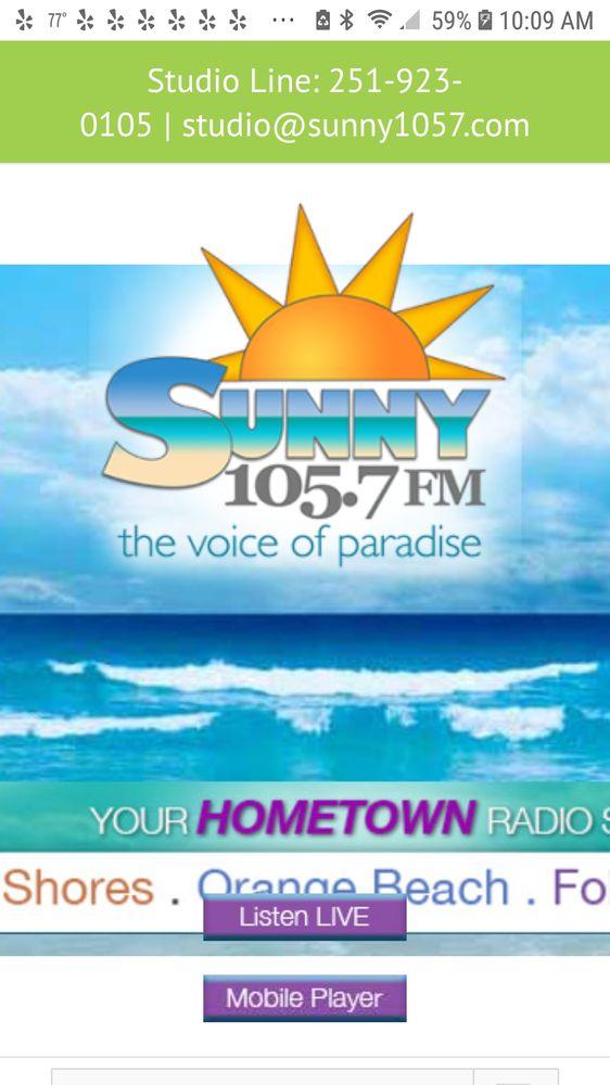 Sunny 105.7 FM: 2421 E 2nd St, Gulf Shores, AL
