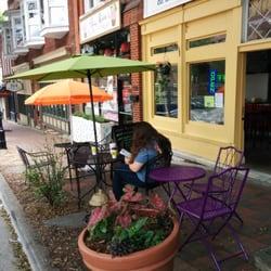 Photo Of Angelu0027s Burritos On The Square   Marietta, GA, United States. Patio  ...