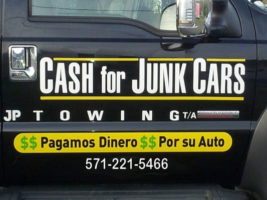 Cash For Junk Cars Towing