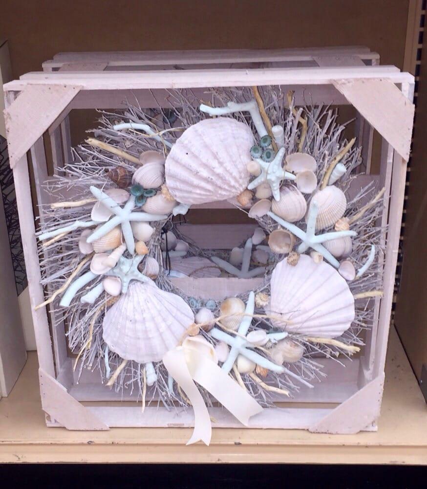 Seashell Wreath Is Attractive Yelp
