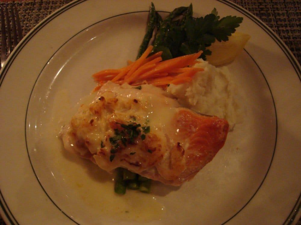 Stuffed salmon yelp for Spenger s fresh fish grotto