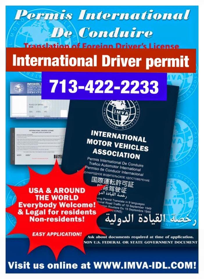 International Driver Permit - Registration Services - 3330