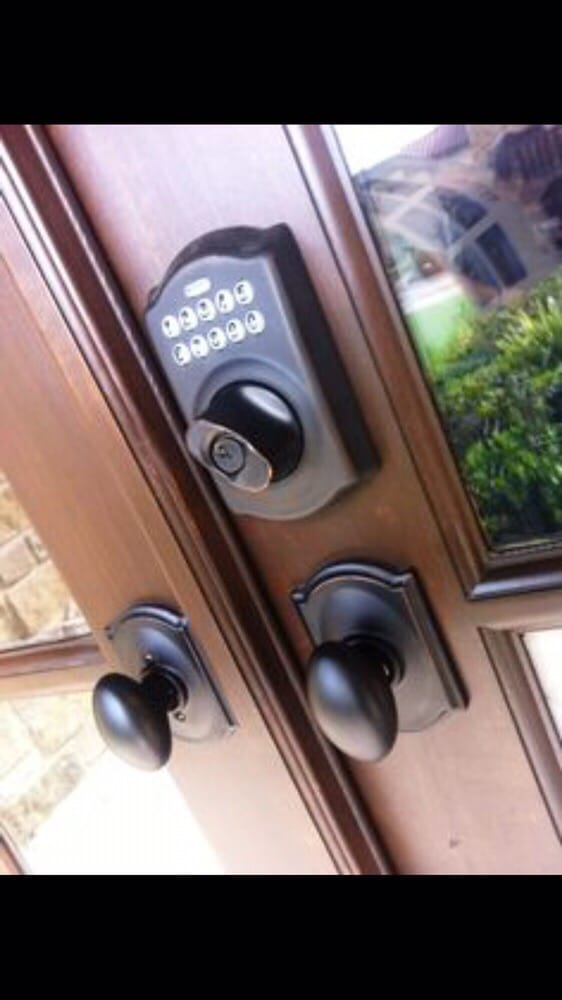 Exceptionnel Photo Of Golden Locksmith   Irvine, CA, United States. Schlage Keypad  Deadbolt Installed