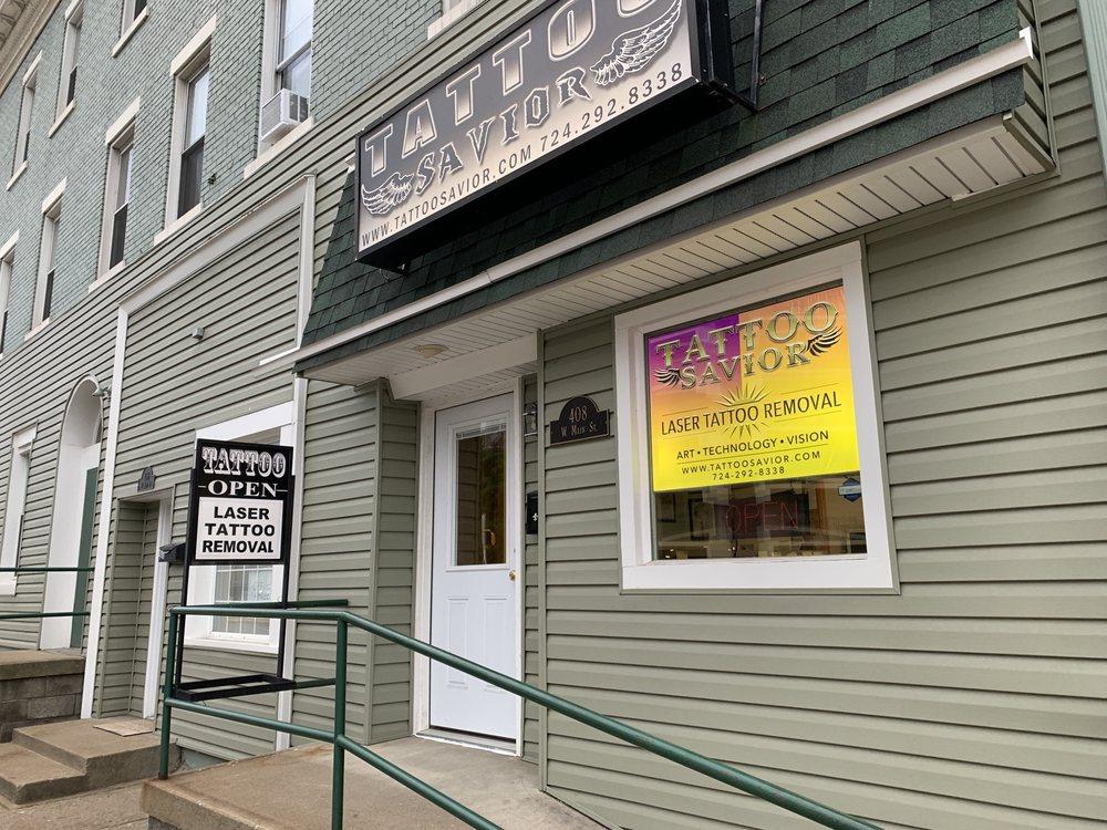 Tattoo Savior: 408 W Main St, Monongahela, PA