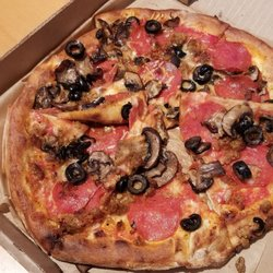 Photo Of Firetrail Pizza San Francisco Ca United States Sausage And Mushroom