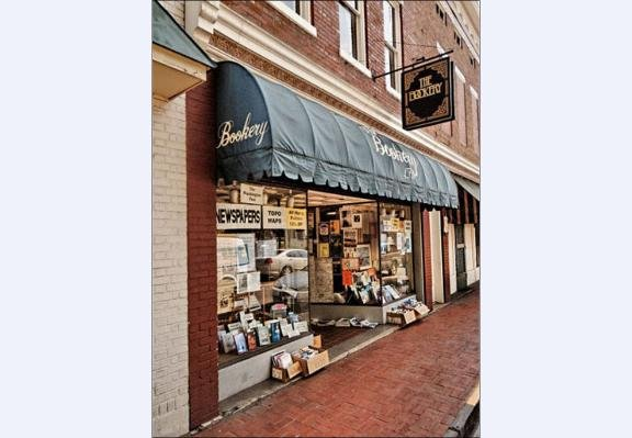 Bookery: 107 W Nelson St, Lexington, VA