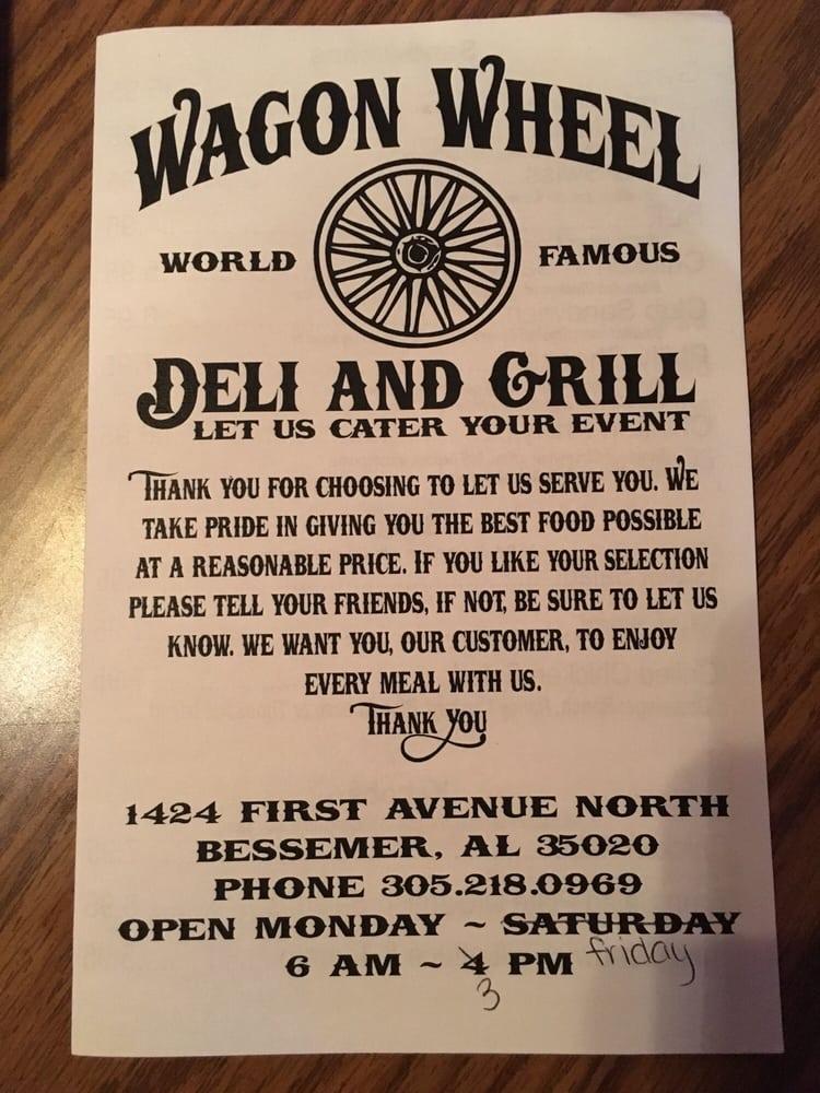 Wagon Wheel: 1424 1st Ave N, Bessemer, AL