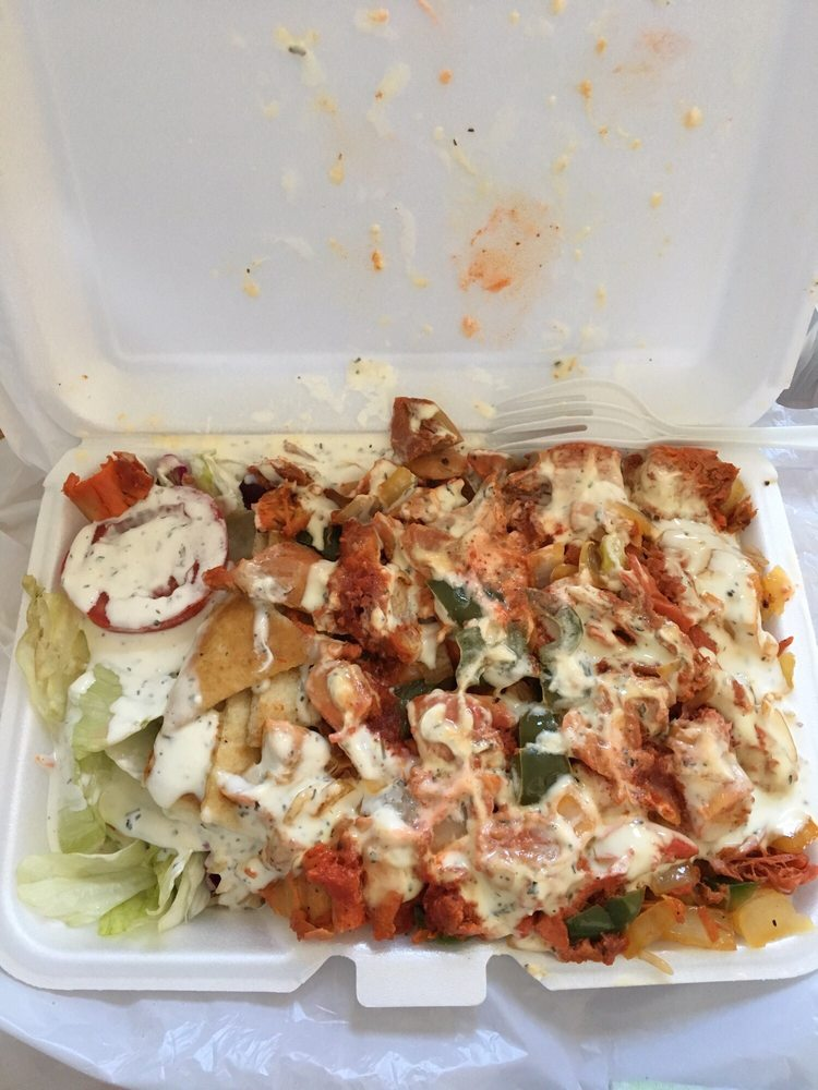 Zaiqa Halal Food Cart: College Point Blvd And Roosevelt Ave, Queens, NY