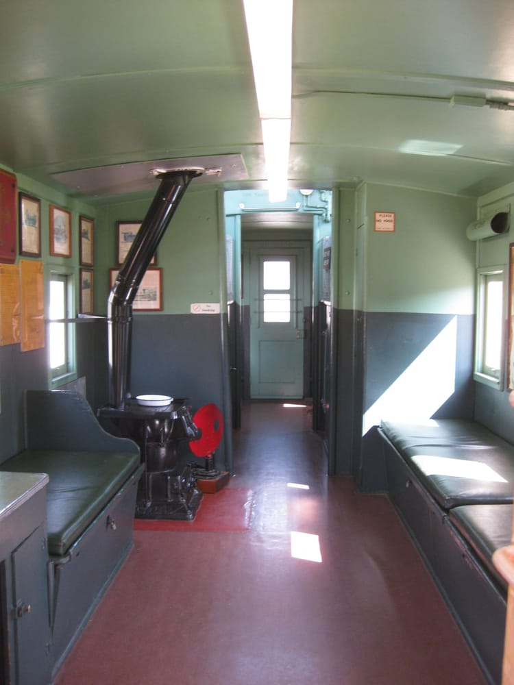 Auto Service Near Me >> caboose interior - Yelp