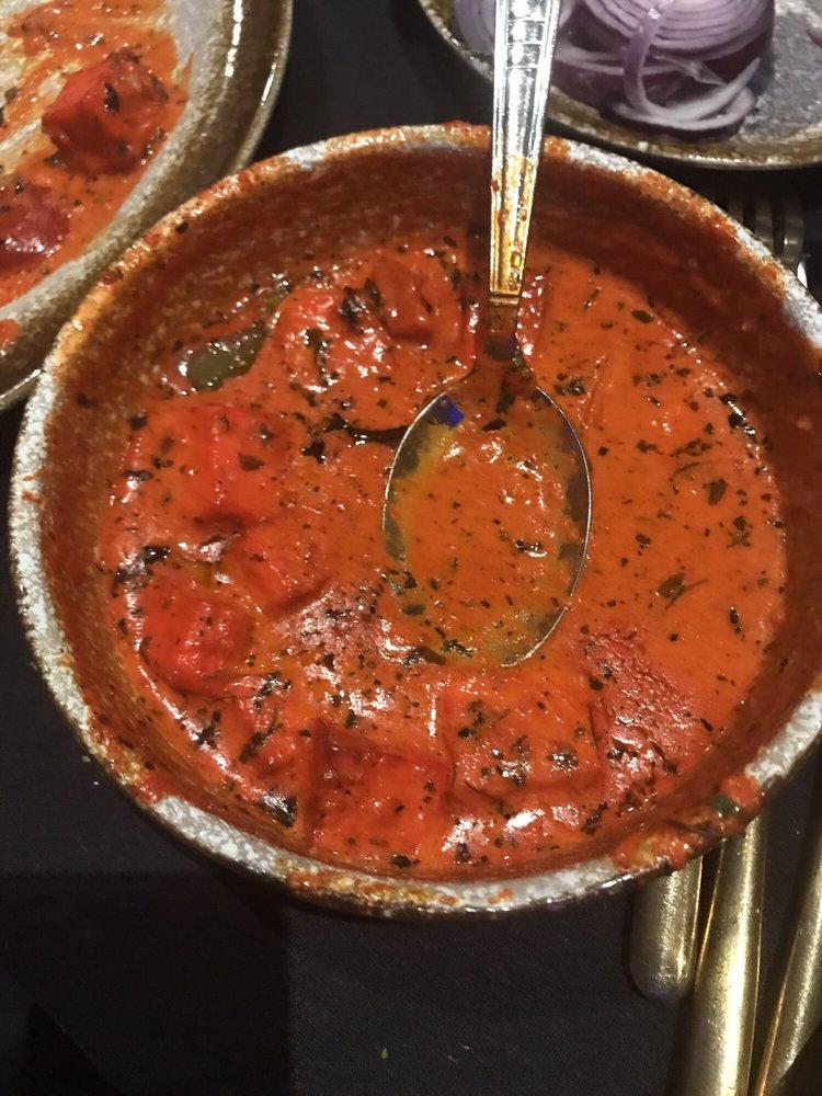 Paneer Tikka Masala; tasteless, watery & full of food coloring smh ...