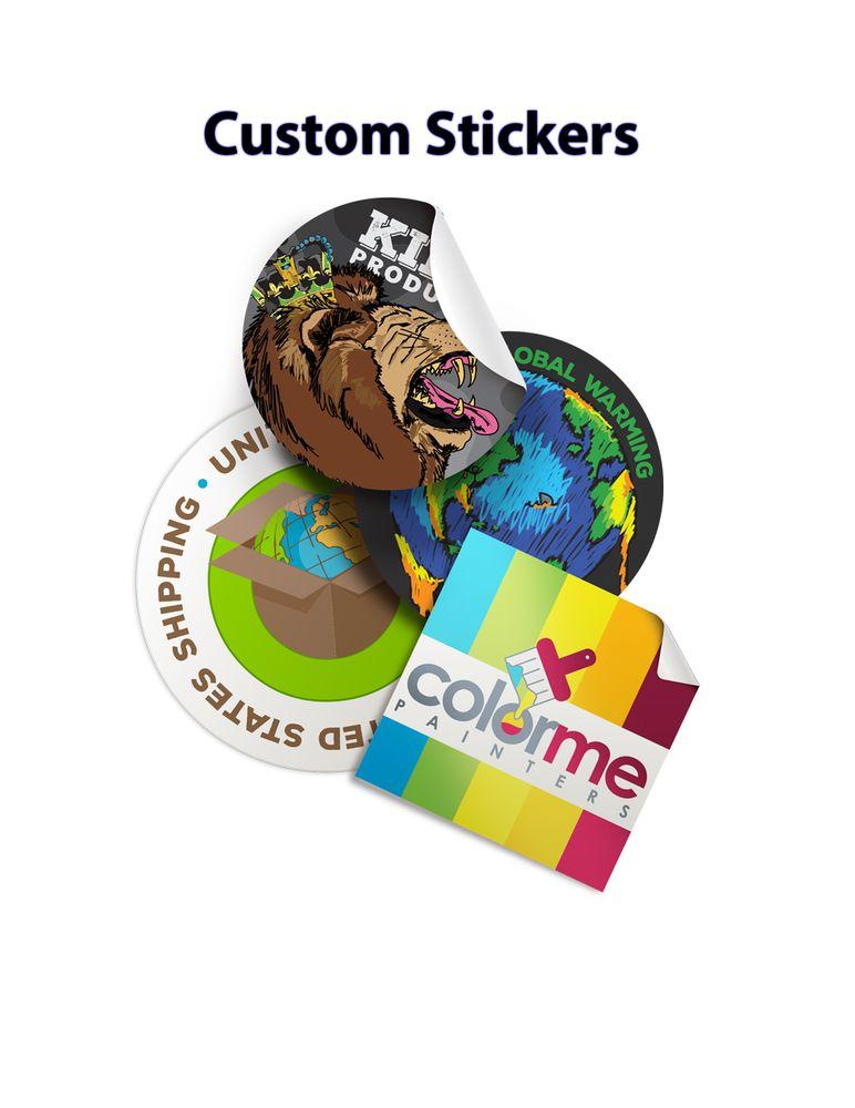 Photo of guru printers los angeles ca united states custom sticker printing