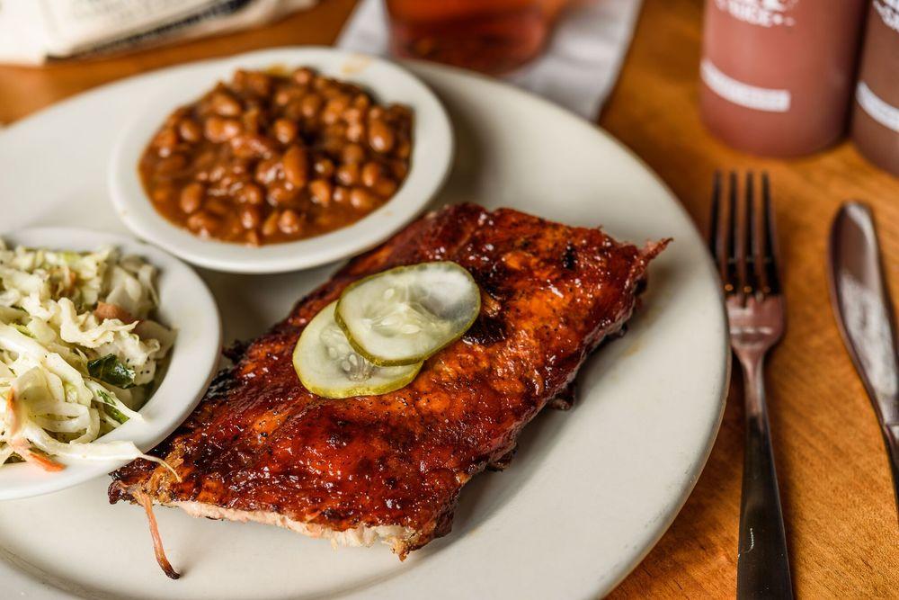 Food from Jim 'N Nick's Bar-B-Q