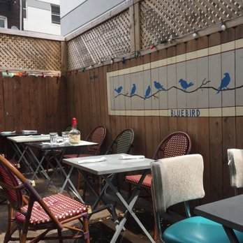 Bluebird Food And Spirits Menu